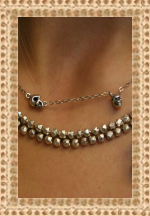 Chan Luu Necklace with Delicate Skull Charms