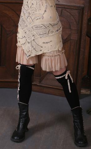 Gypsy Moon: Mirna's Silk Ruffled Knickers