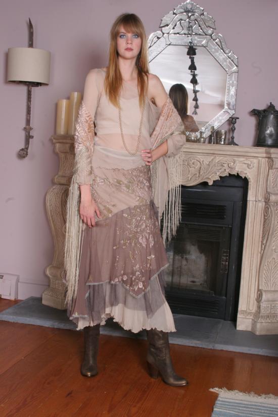 Rozae Nichols Multi Layered Skirt
