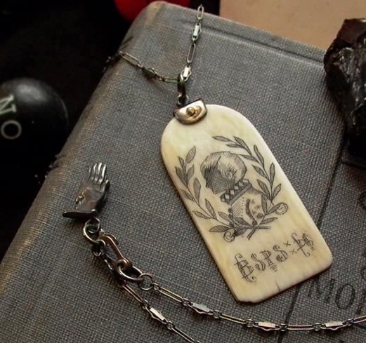 Black-Hearted Son Necklace
