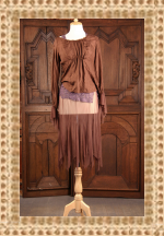 Gypsy Moon Air Pirate Silk and Tulle Blouse